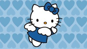 Blue Hello Kitty Wallpapers – Top Free Blue Hello Kitty Backgrounds
