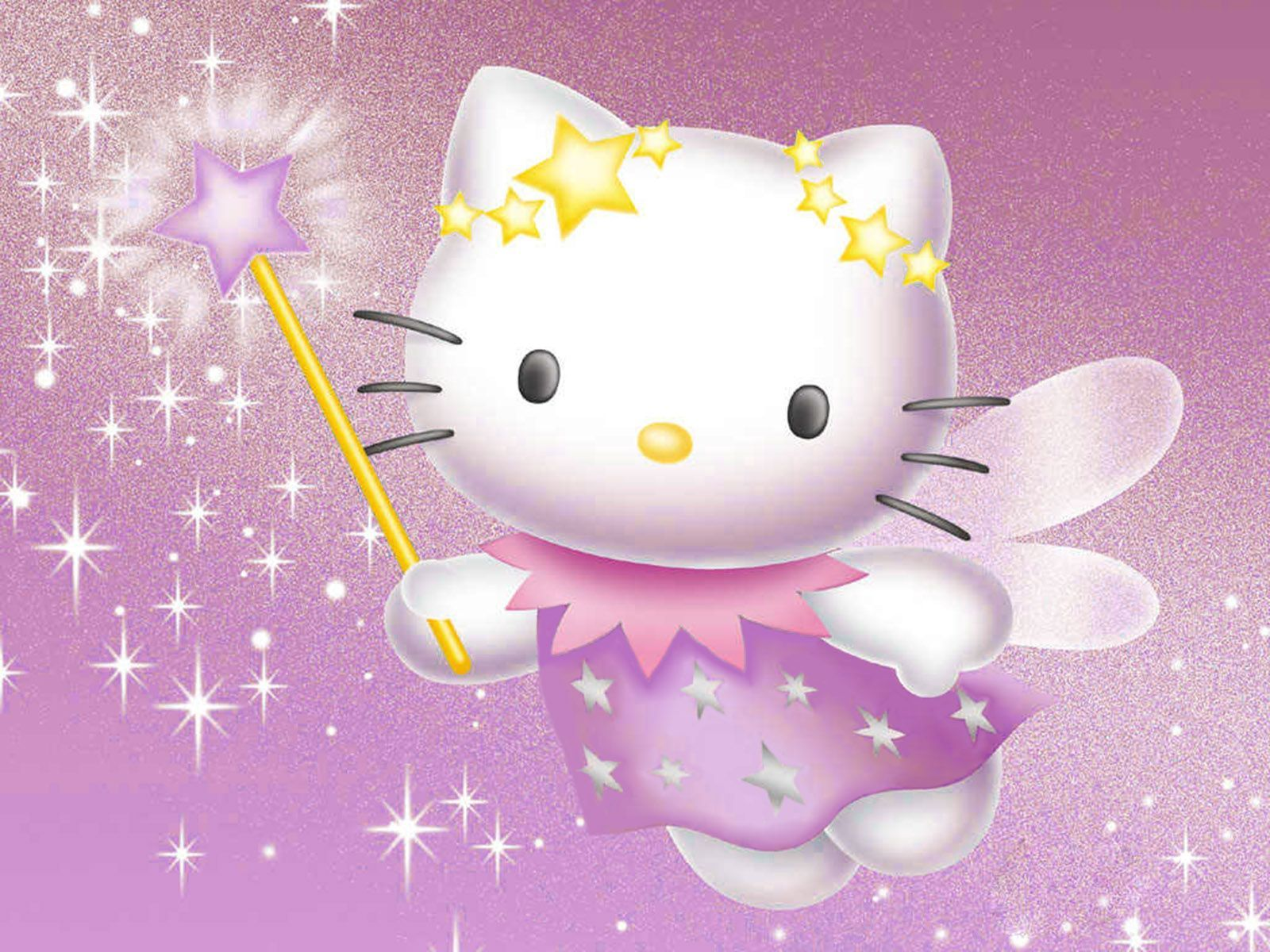 1600x1200 Hello Kitty 3D Wallpapers
