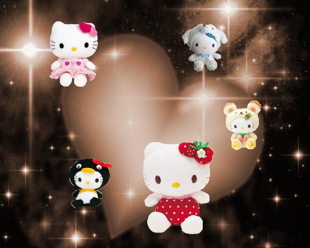 1000x800 49+] 3D Hello Kitty Wallpaper on WallpaperSafari