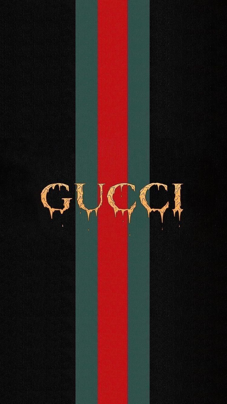 750x1333 Gucci iphone wallpaper background love black red fashion ...