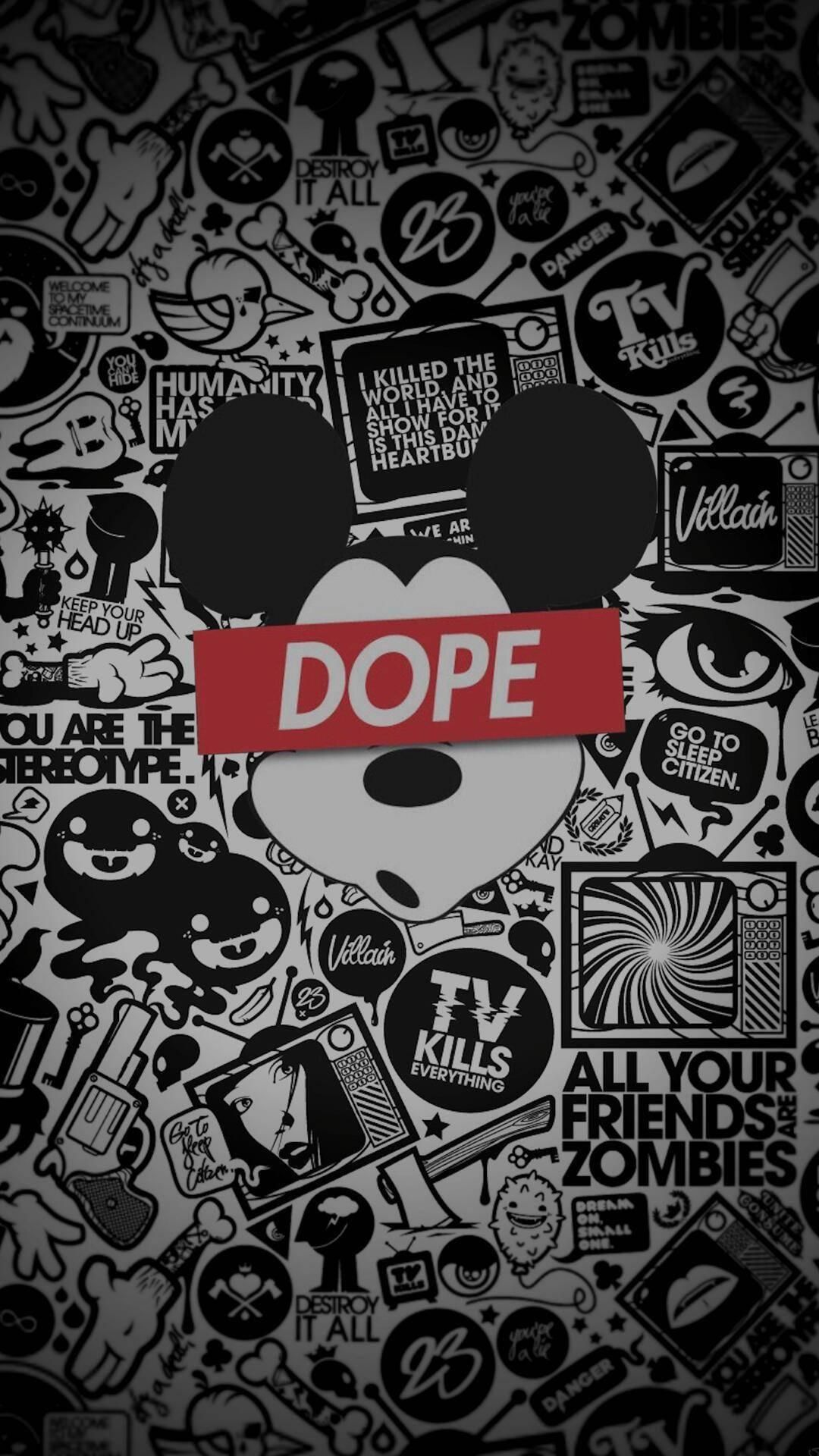 1080x1920 Mickey mouse Dope | Beautiful Wallpaper | Pinterest | Wallpaper ...
