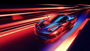 Neon Ferrari Wallpapers – Top Free Neon Ferrari Backgrounds