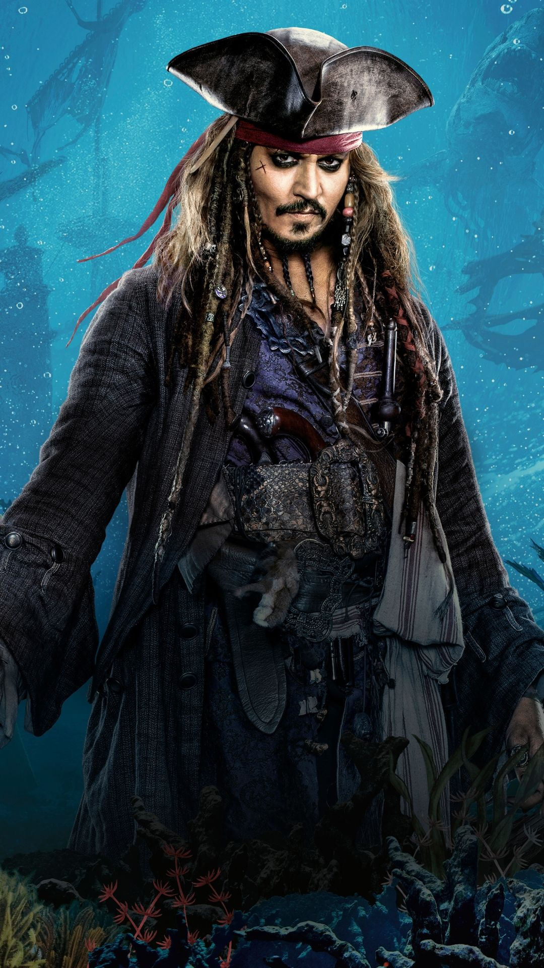 1080x1920 Movie/Pirates Of The Caribbean: Dead Men Tell No Tales ...