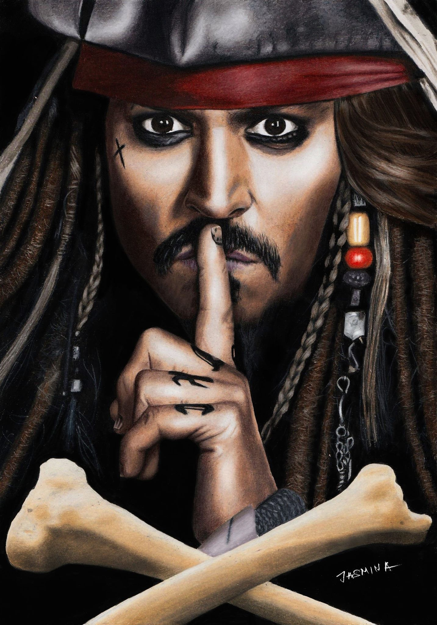 1433x2048 Pin by Andres on Jack in 2019 | Jack sparrow tattoos ...