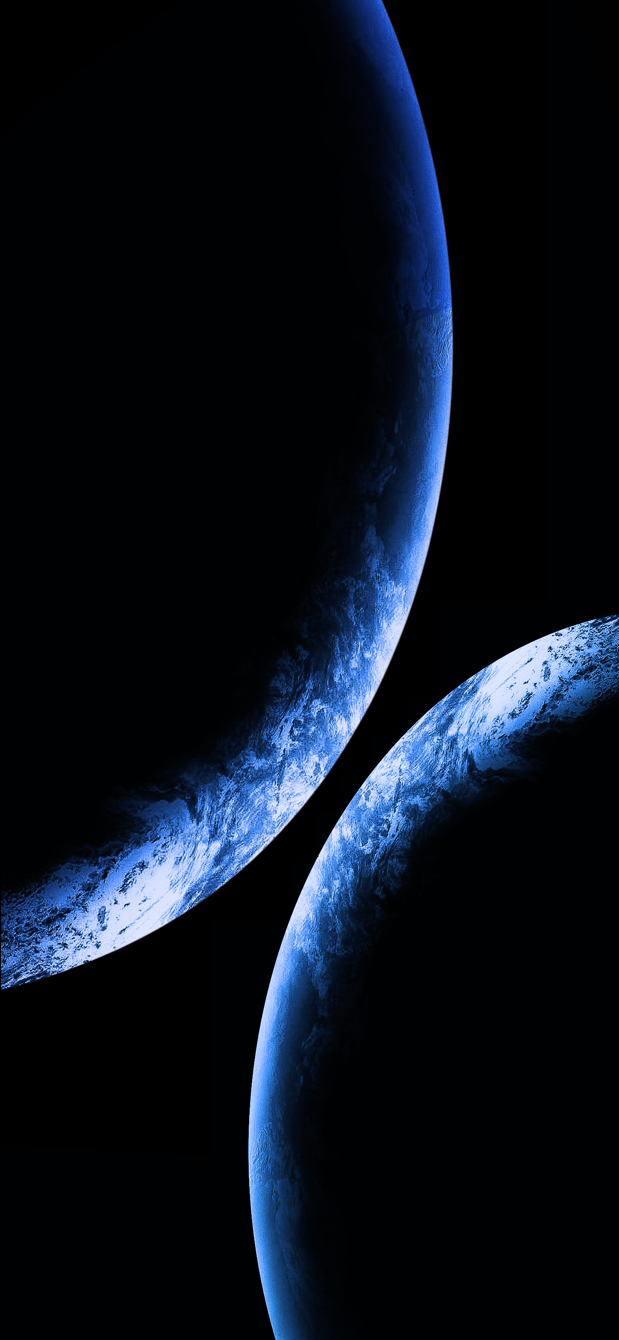 1242x2688 Wallpapers of the week: fantasy planets