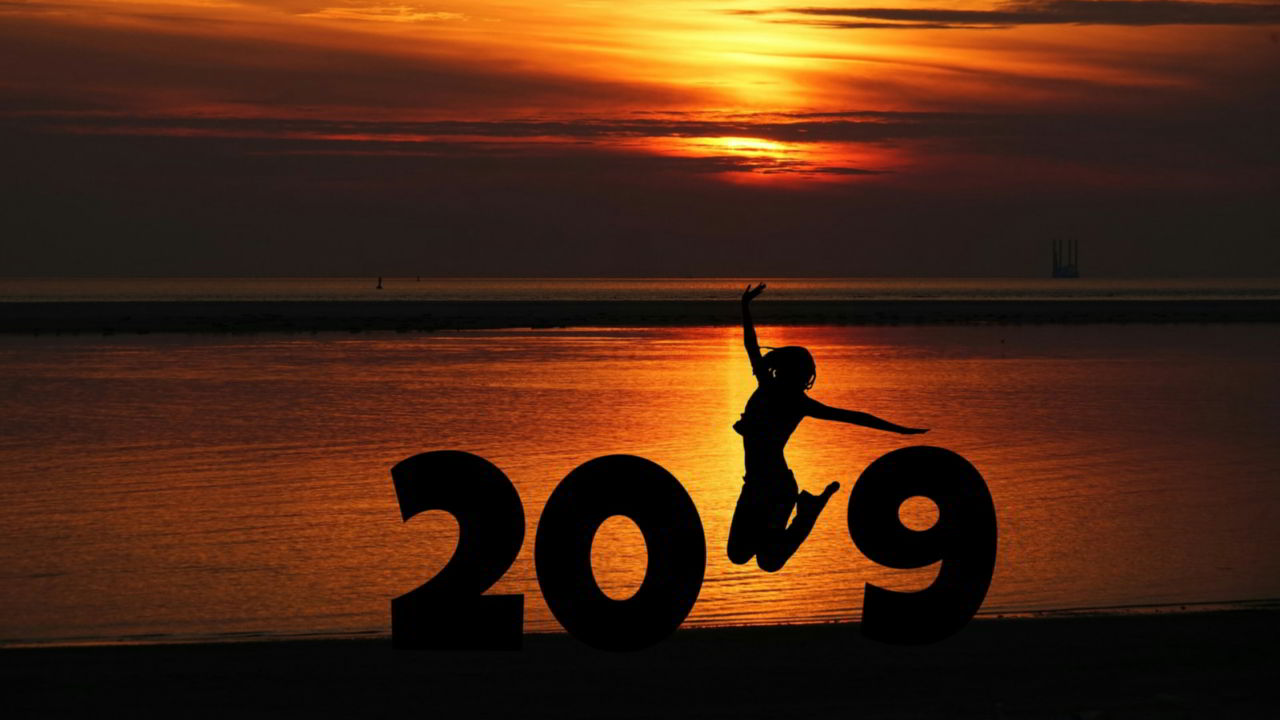 1280x720 New Year Wallpapers: Happy New Year Wallpapers 2019 • Talk ...