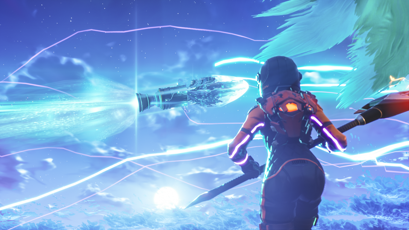 1366x768 Download 1366x768 Fortnite, Battleroyale, Woman Wallpapers ...