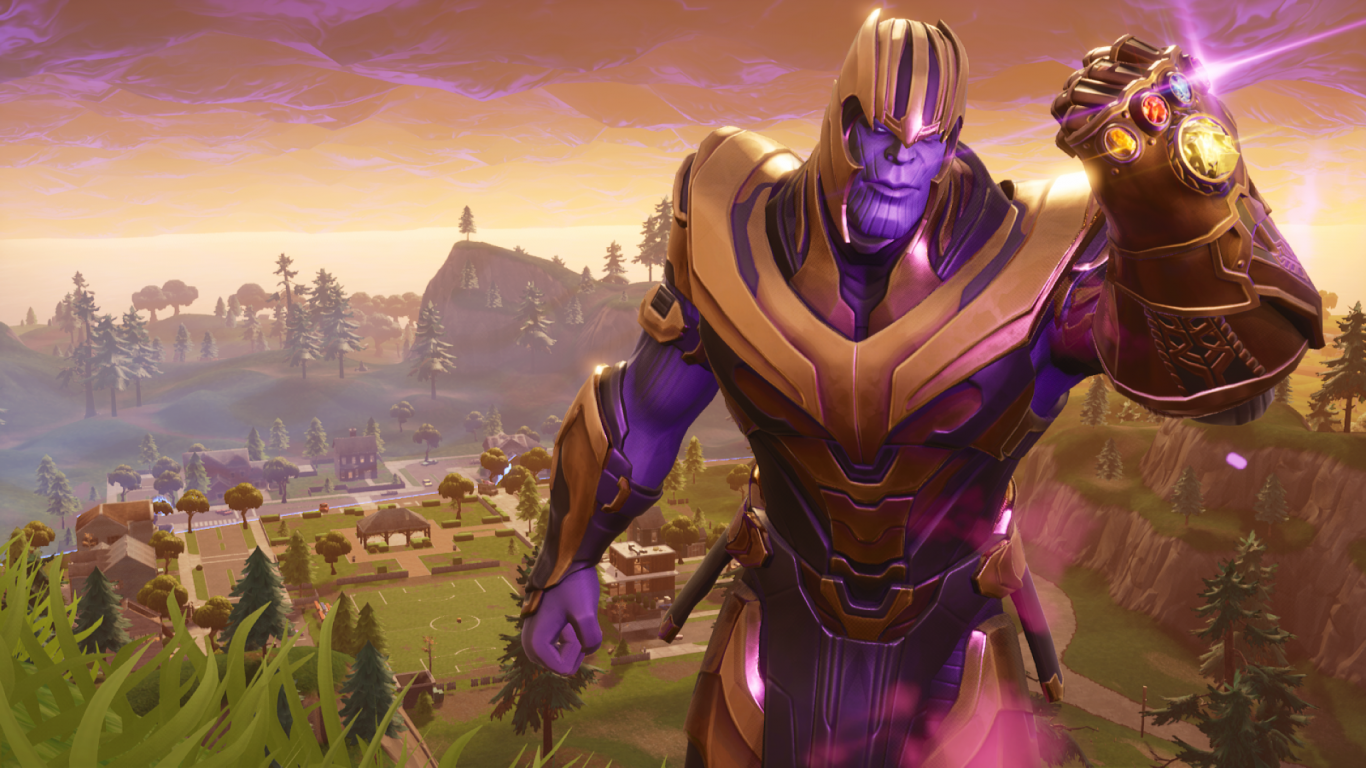1366x768 Download 1366x768 Fortnite, Thanos Wallpapers for Laptop ...