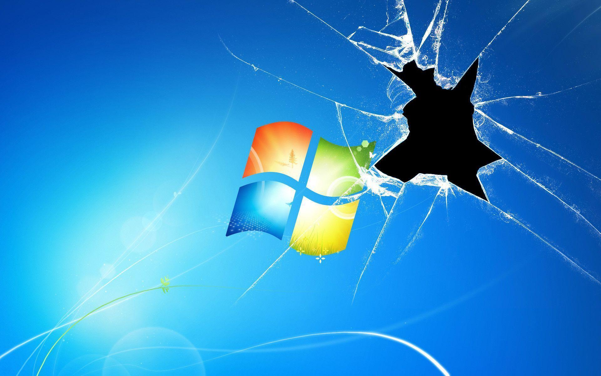 1920x1200 Cracked Computer Screen Wallpapers