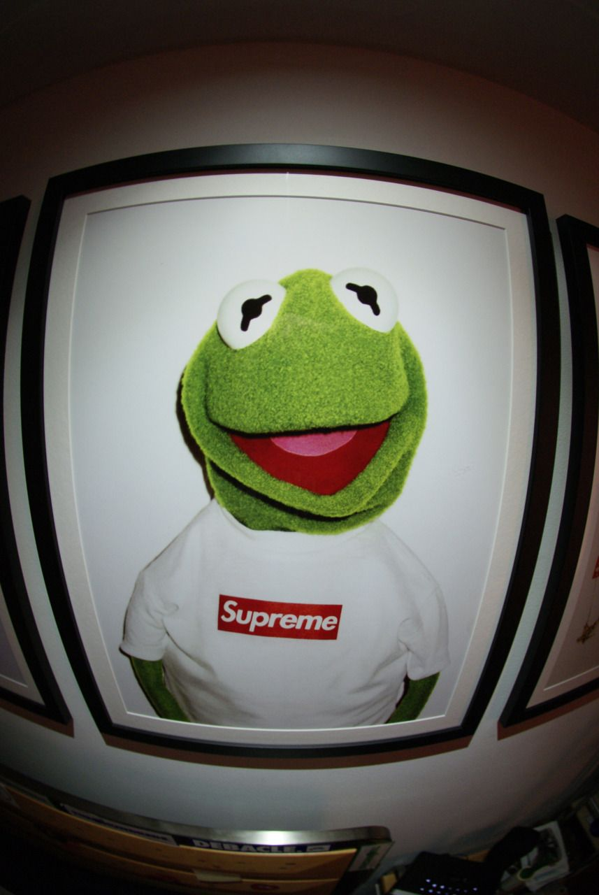 857x1280 Supreme Kermit. | Frogs | Pinterest | Kermit, Supreme and Supreme ...