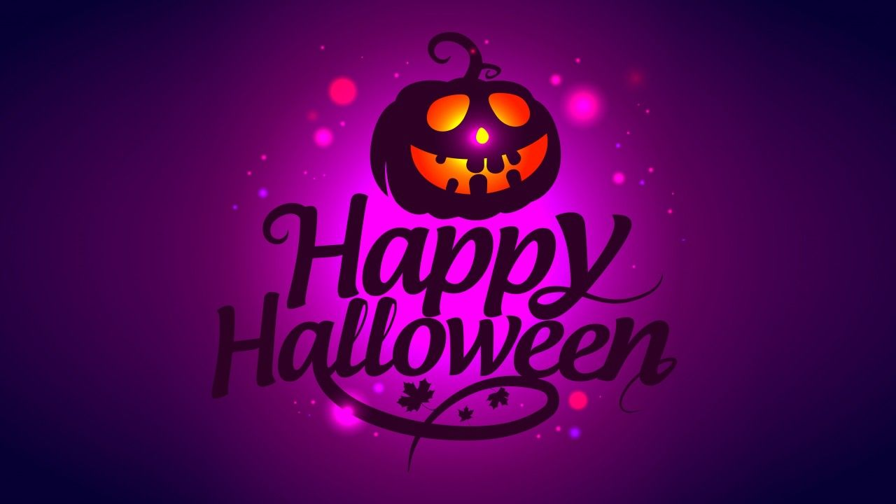 1280x720 Wallpaper Happy Halloween, 4K, Celebrations / Halloween, #5395