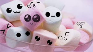 Kawaii Marshmallows Wallpapers – Top Free Kawaii Marshmallows Backgrounds