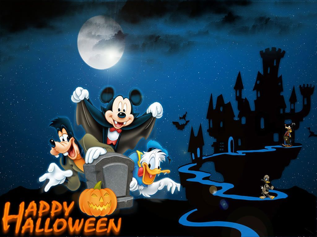 1024x768 Download 50 Cute and Happy Halloween Wallpapers HD for Free ...