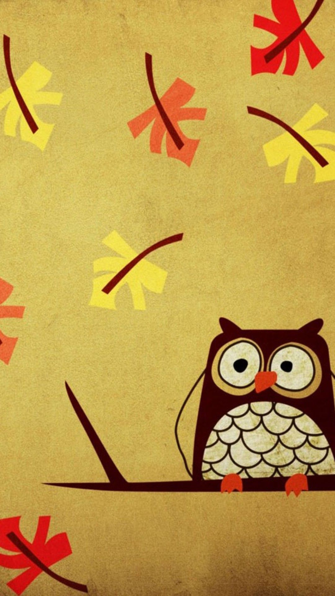 1080x1920 55+ Fall Owls Girly Wallpapers - Download at WallpaperBro