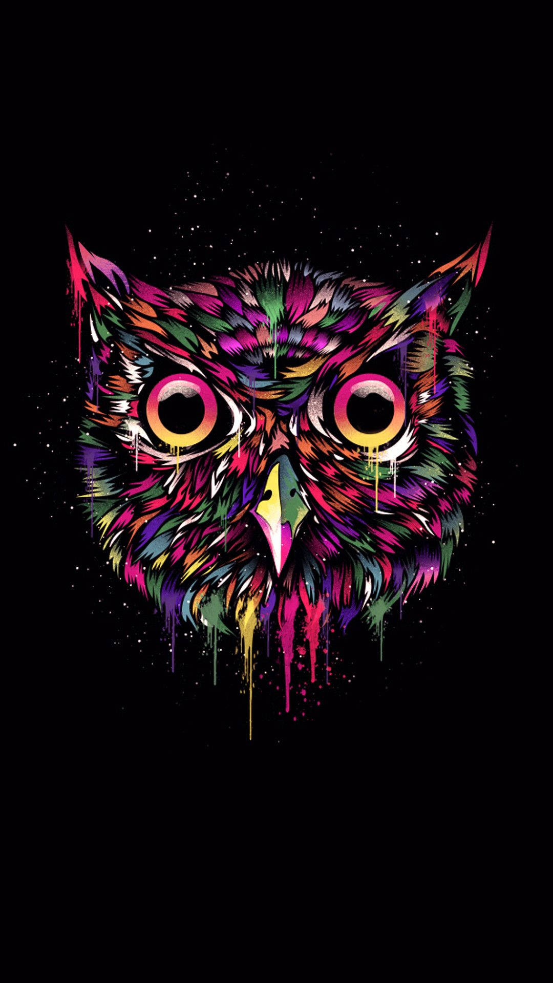 1080x1920 76+ Owl Iphone Wallpapers on WallpaperPlay
