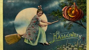 Vintage Halloween Witch Wallpapers – Top Free Vintage Halloween Witch Backgrounds