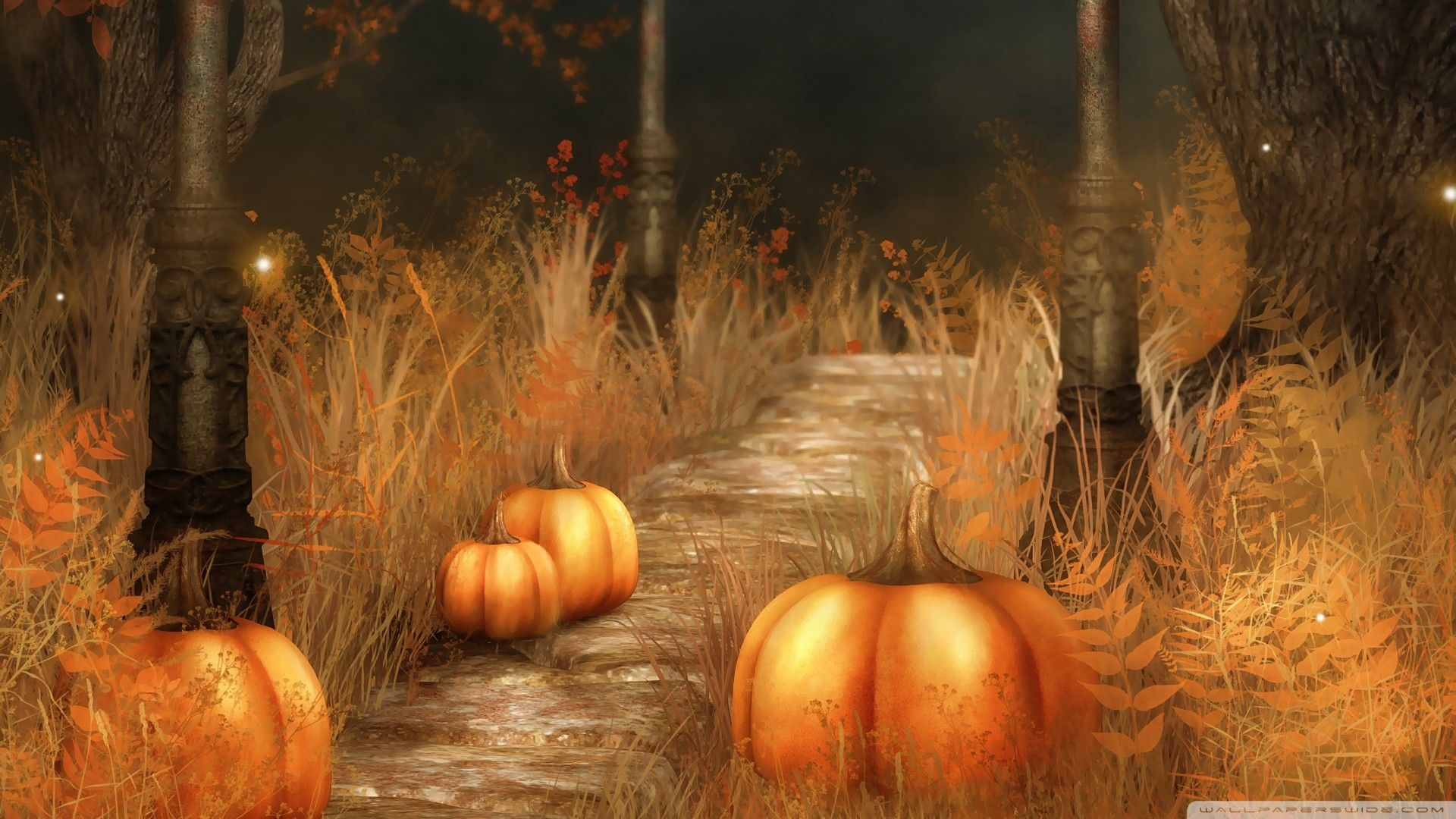 1920x1080 Fall Wallpapers With Pumpkins (57+ images)