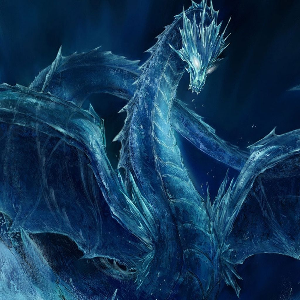 1024x1024 ice dragon wallpapers 3d - Google Search | Art | Pinterest | Ice ...