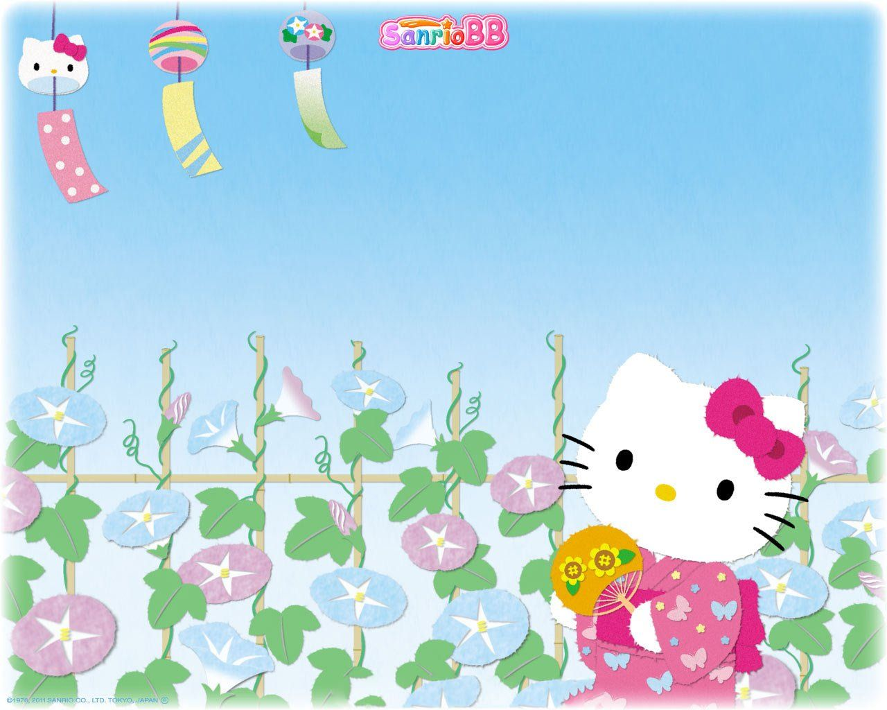 1280x1024 Free download Hello Kitty Spring Wallpaper [1280x1024] for ...