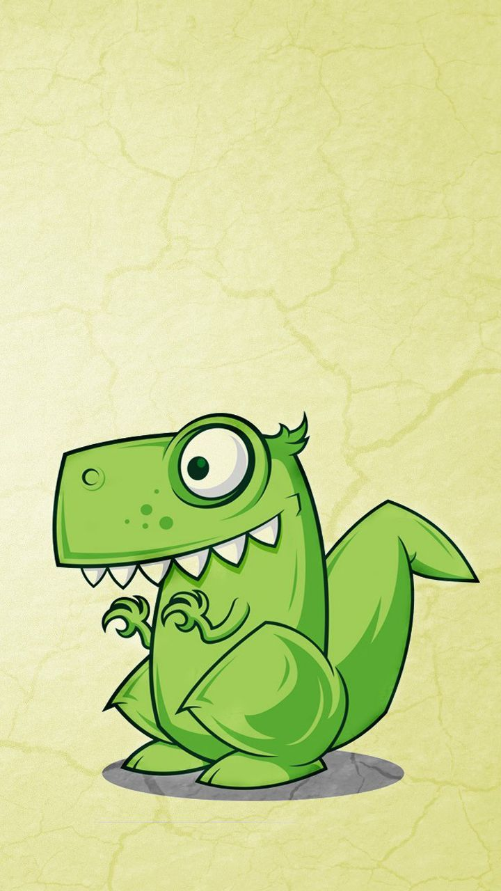 720x1280 Dino - iPhone wallpapers @mobile9 | #cartoon #cute | Great ...