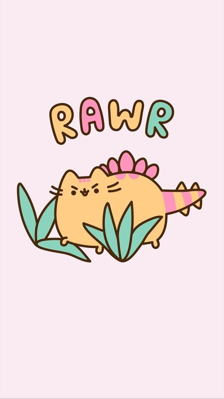 720x1280 Pin by Angelique on Wall paper in 2019 | Pusheen, Dinosaur ...