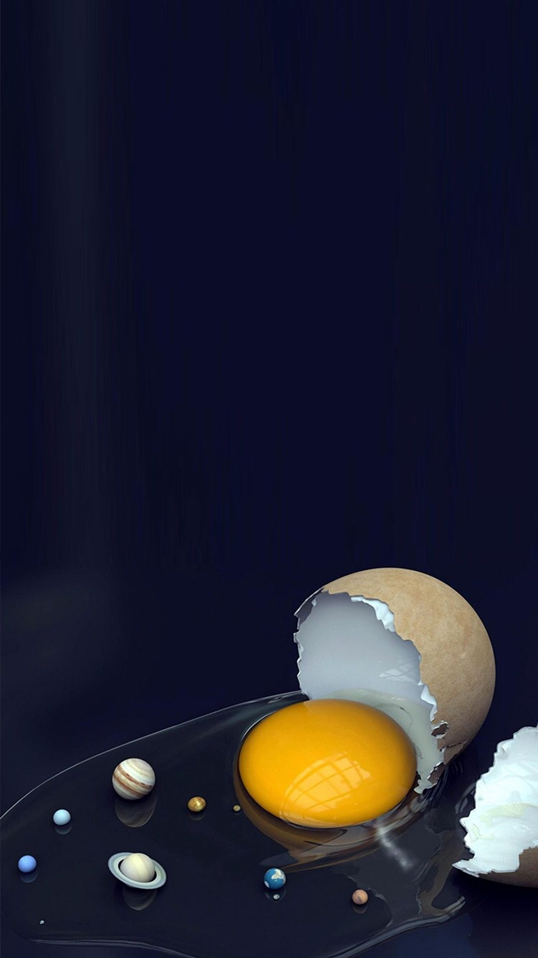 1080x1920 Solar System Broken Egg iPhone 8 Wallpapers Free Download