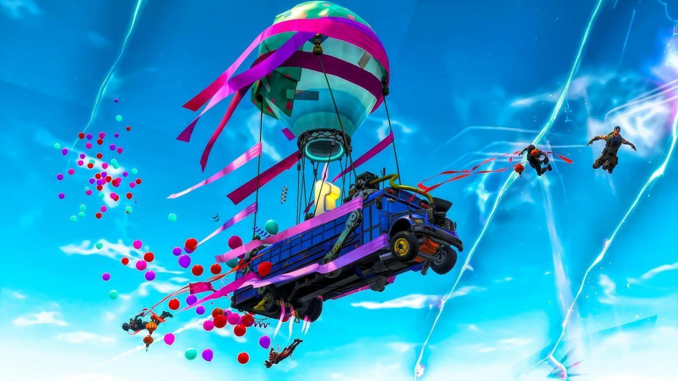 1366x768 THE BIRTHDAY GIFTS KEEP ON COMING - FORTNITE PATCH 5.10 ...