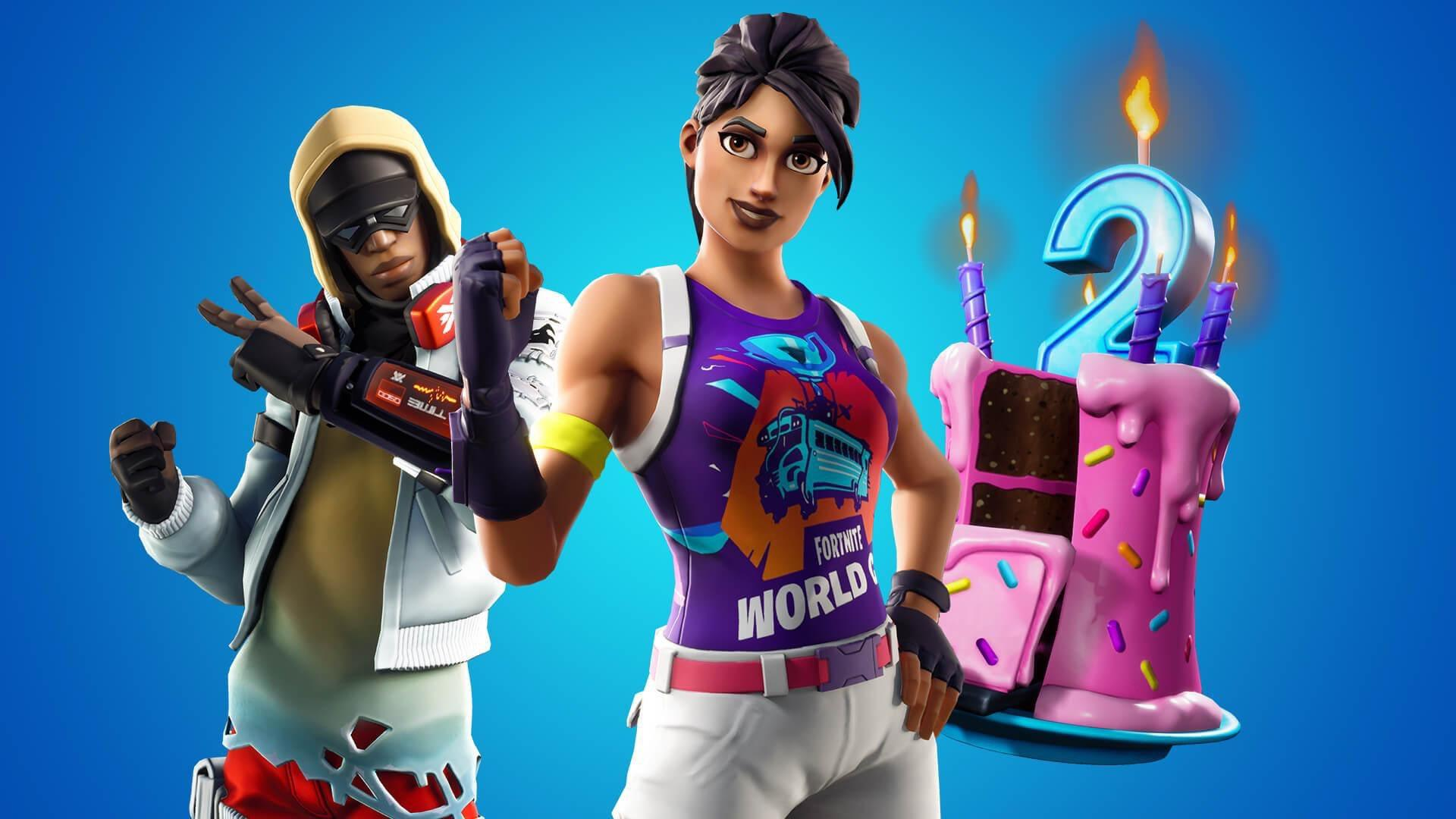 1920x1080 Happy 2nd Birthday to Fortnite! - All Challenge Details + ...