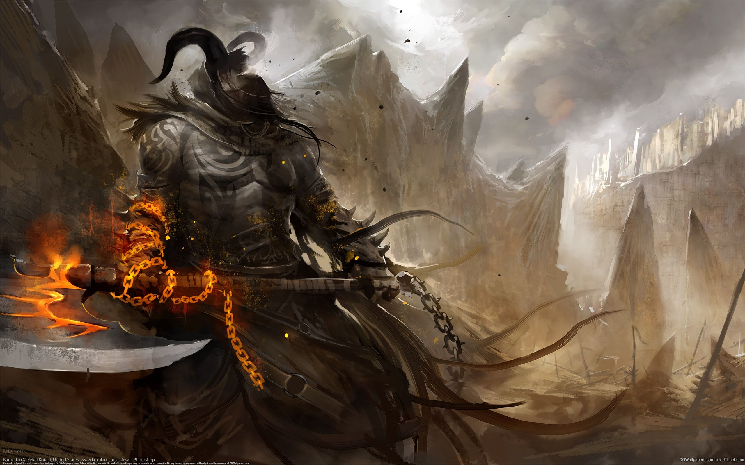 2560x1600 Wallpaper's Collection: «Warrior Wallpapers»