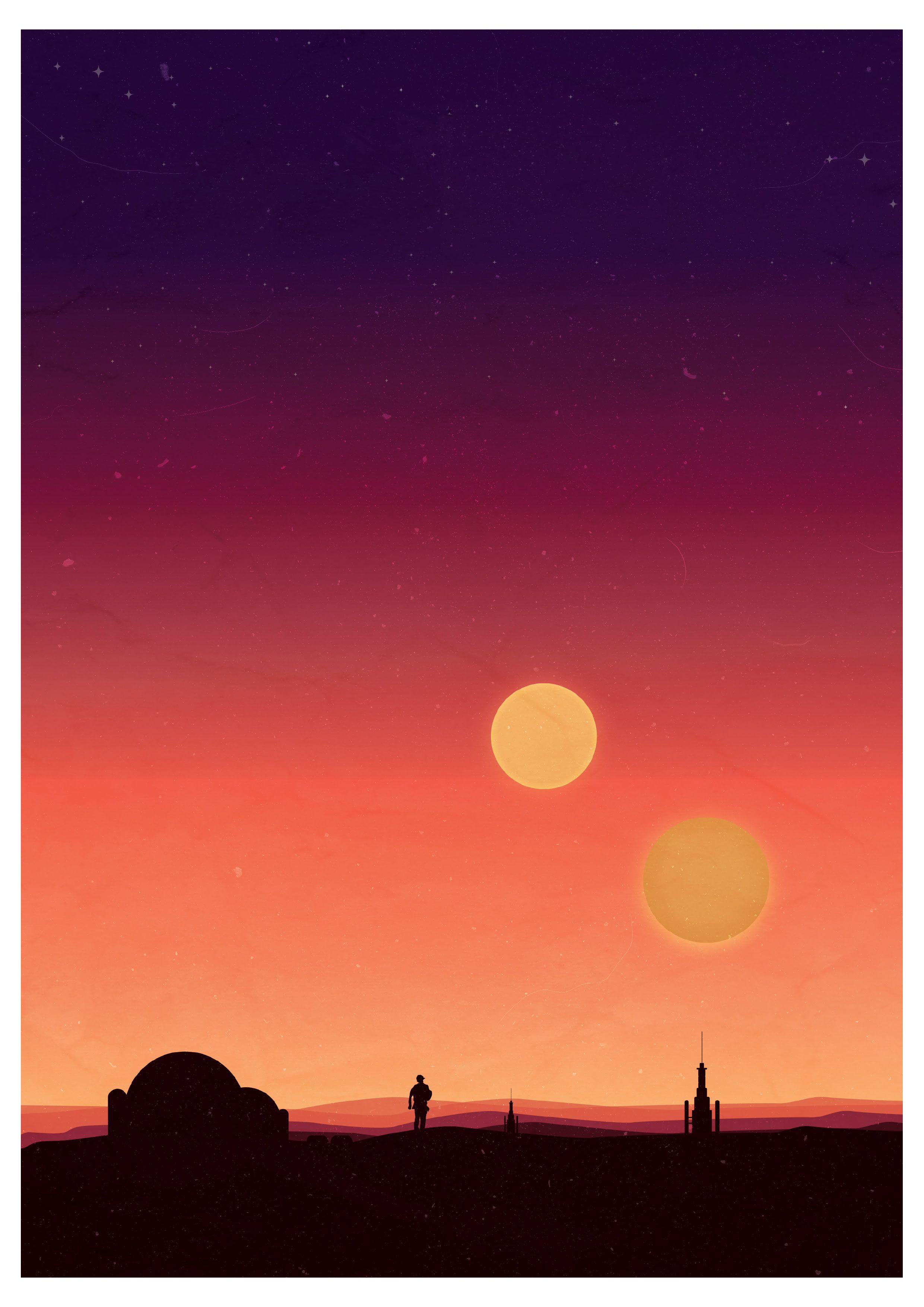 2481x3508 Tatooine Two Suns Wallpaper (110+ images in Collection) Page 1