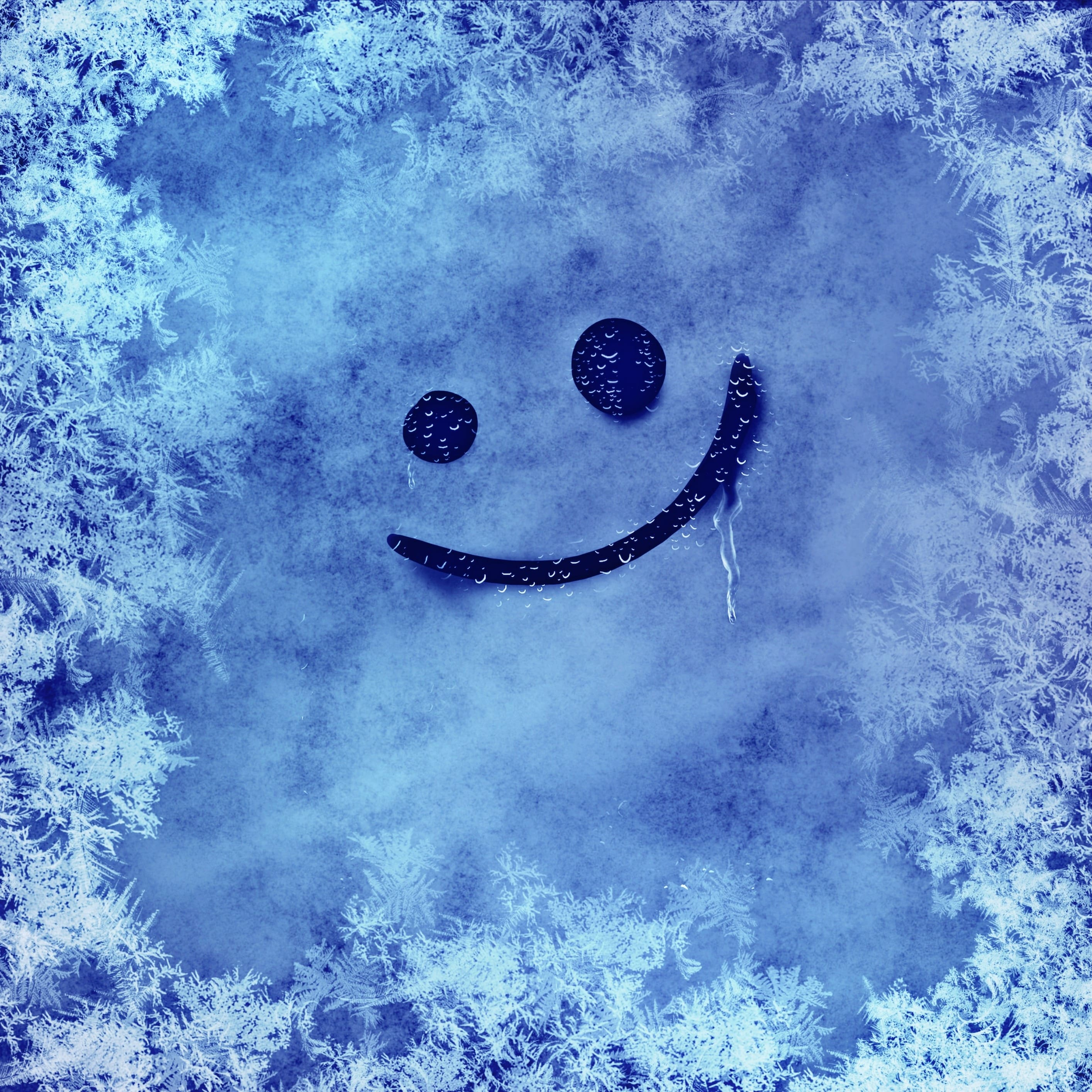 2828x2828 Winter Hardest Smiley Frost Cold #3199 Wallpapers and Free ...