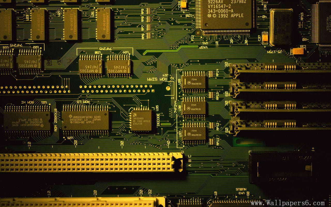 1280x800 Free download old type mainboard Computers Wallpapers ...