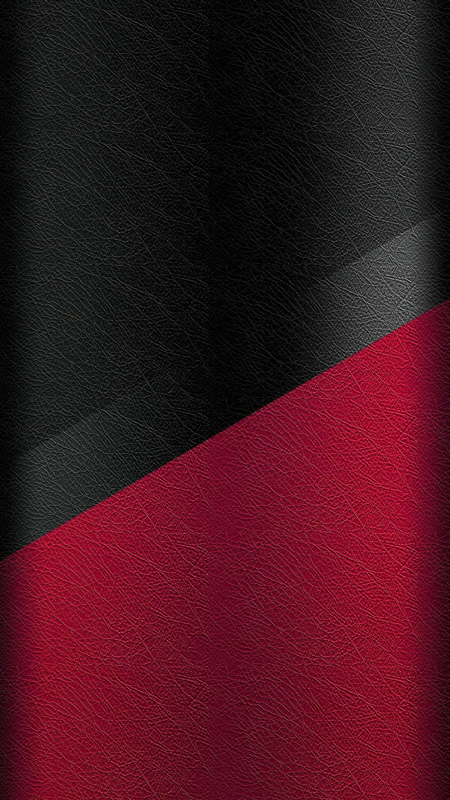 1440x2560 Dark S7 Edge Wallpaper 05 - Black and Red Leather Pattern ...