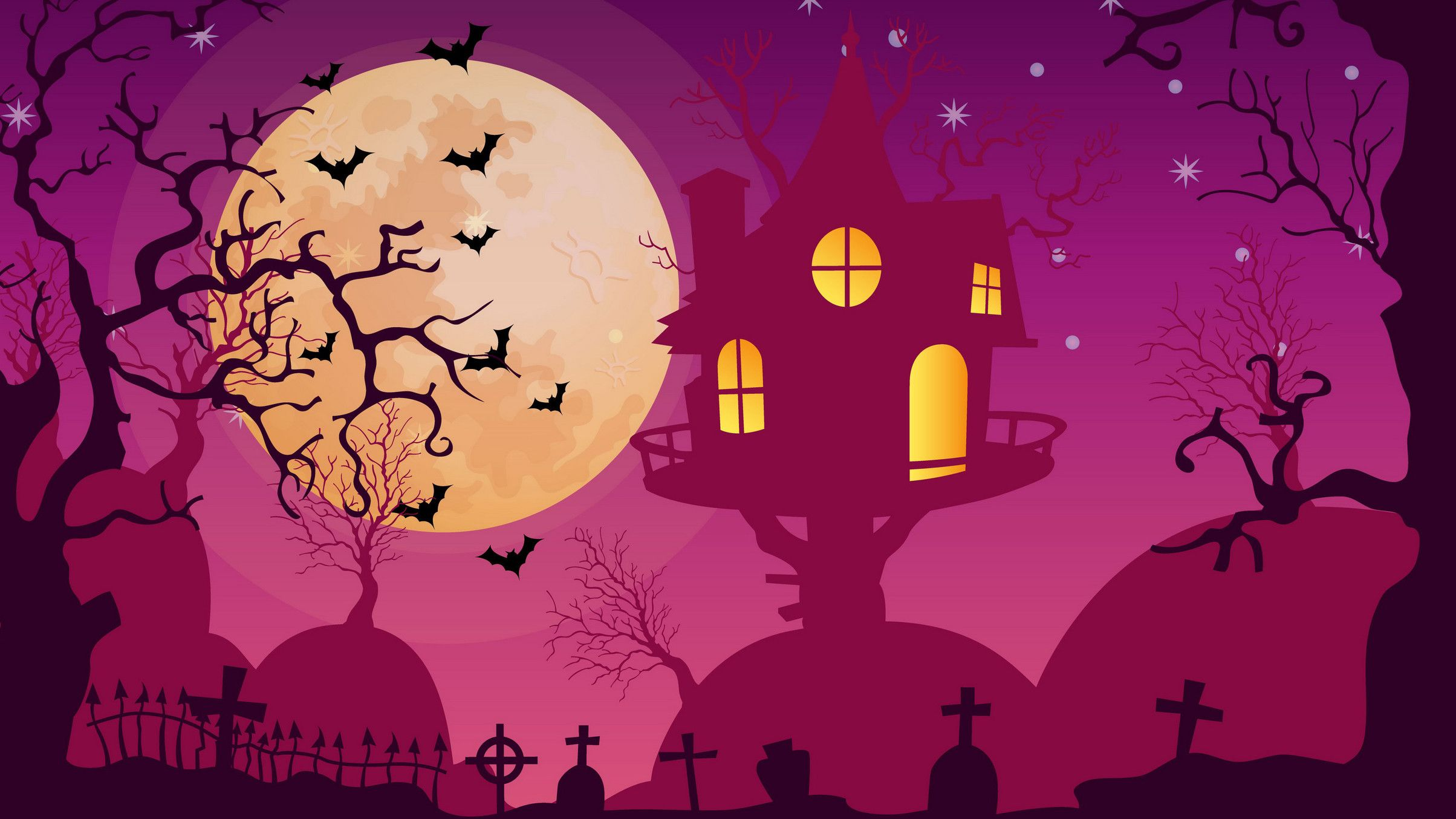 2408x1354 Halloween Backgrounds for Pictures (63+ images)