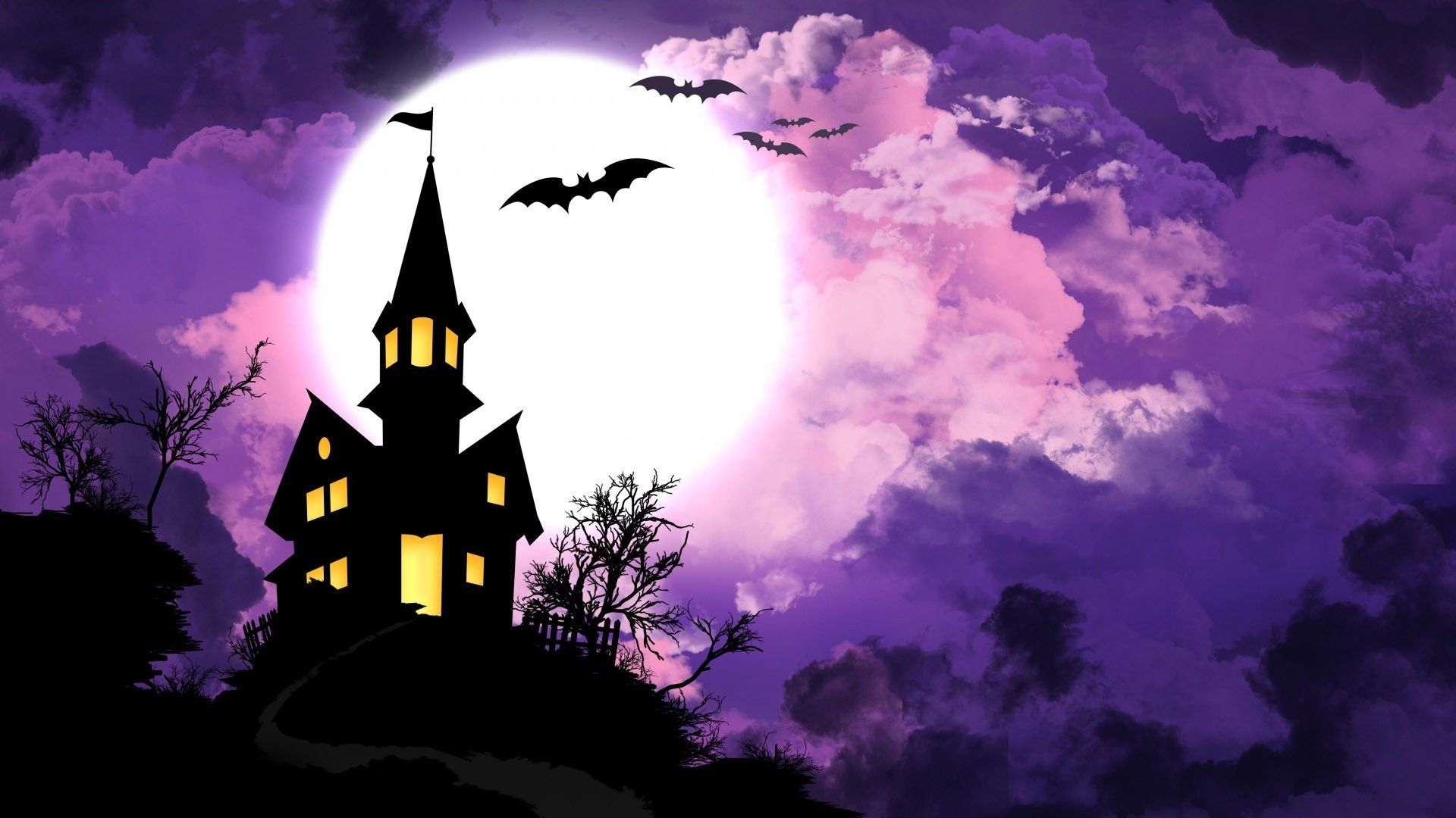1920x1080 Pictures Images Halloween Backgrounds Wallpapers Desktop ...