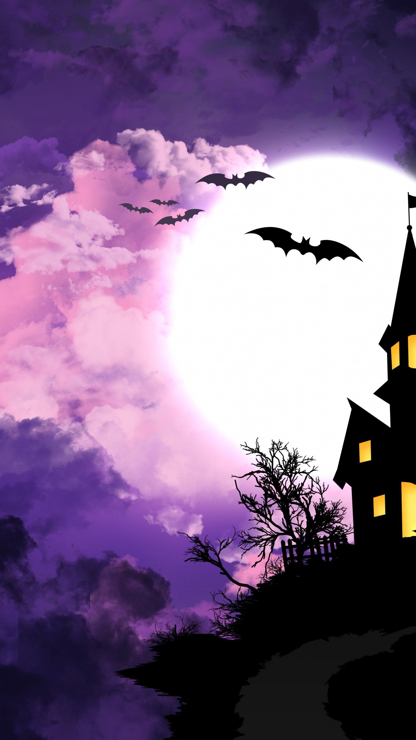 1440x2560 Halloween Background HQ Desktop Wallpaper 14398 - Baltana