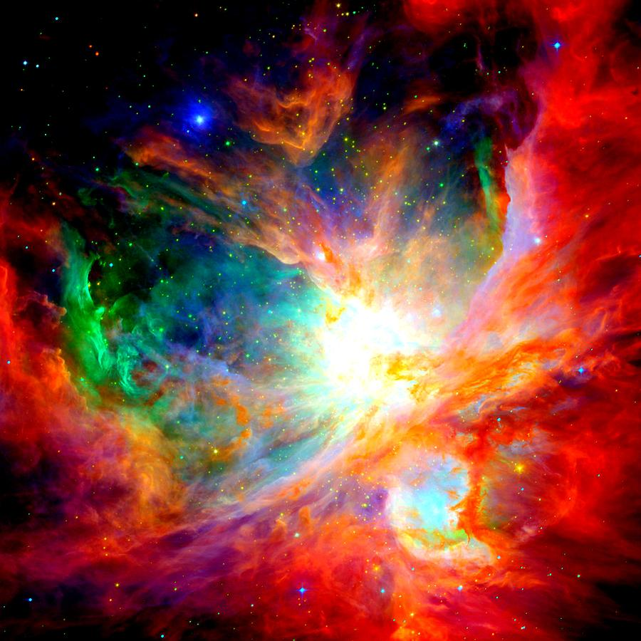 900x900 Orion Nebula Close Up II