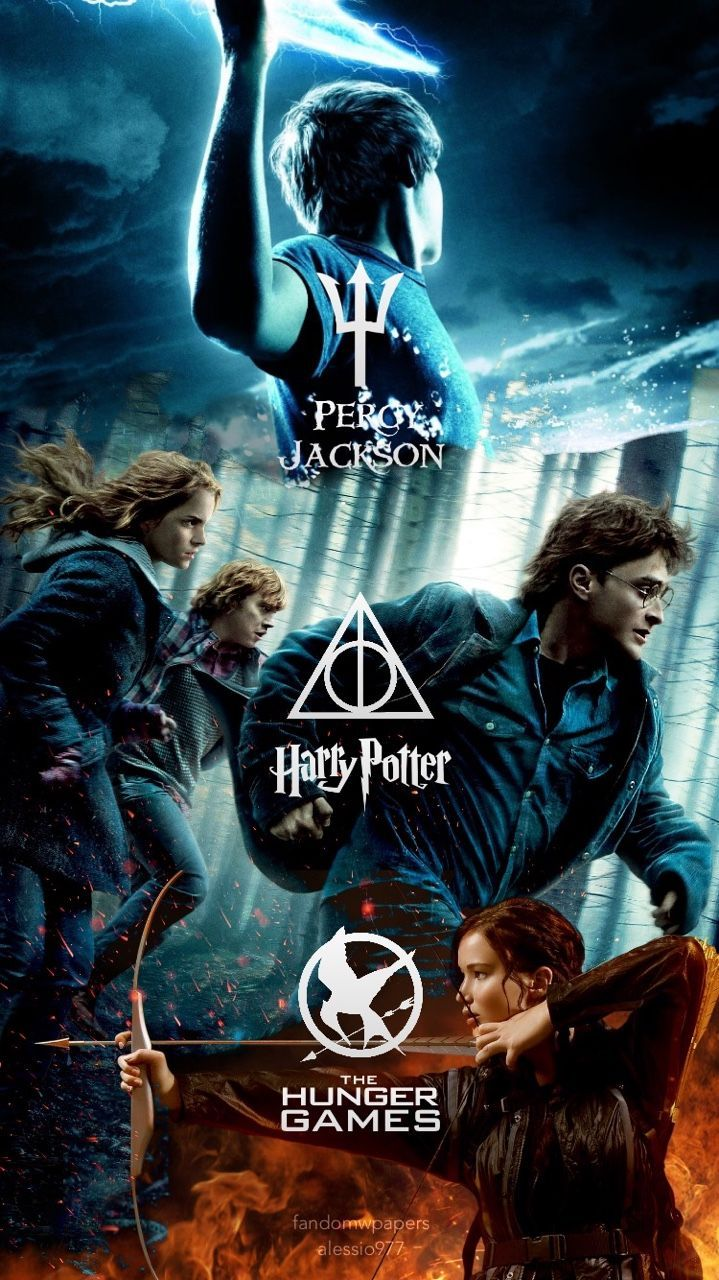 719x1280 Multi fandom Wallpaper (Percy Jackson, Harry Potter and The ...