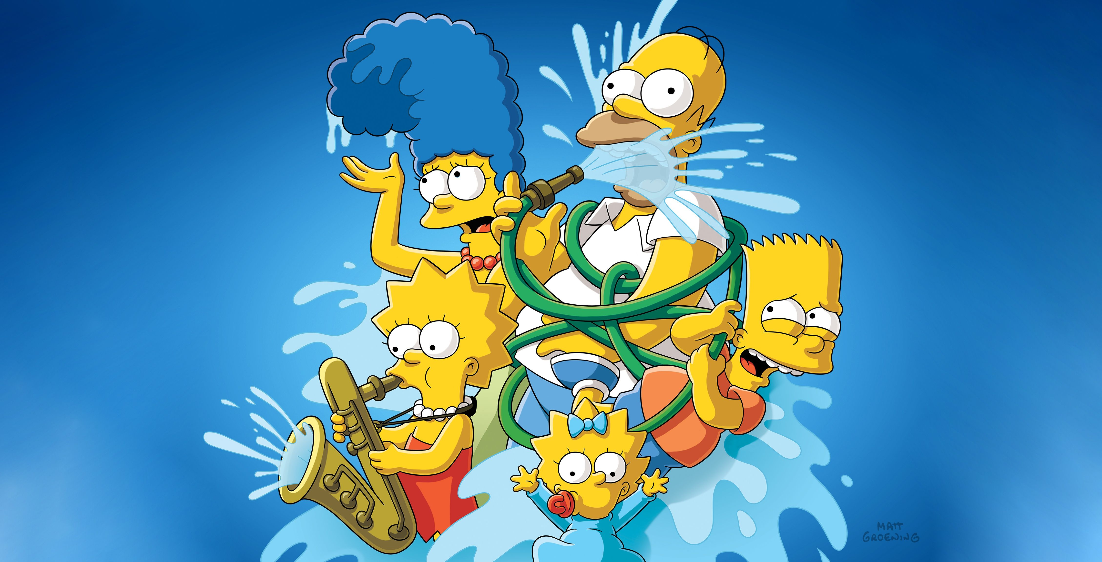 4516x2304 The Simpsons 4k, HD Cartoons, 4k Wallpapers, Images ...