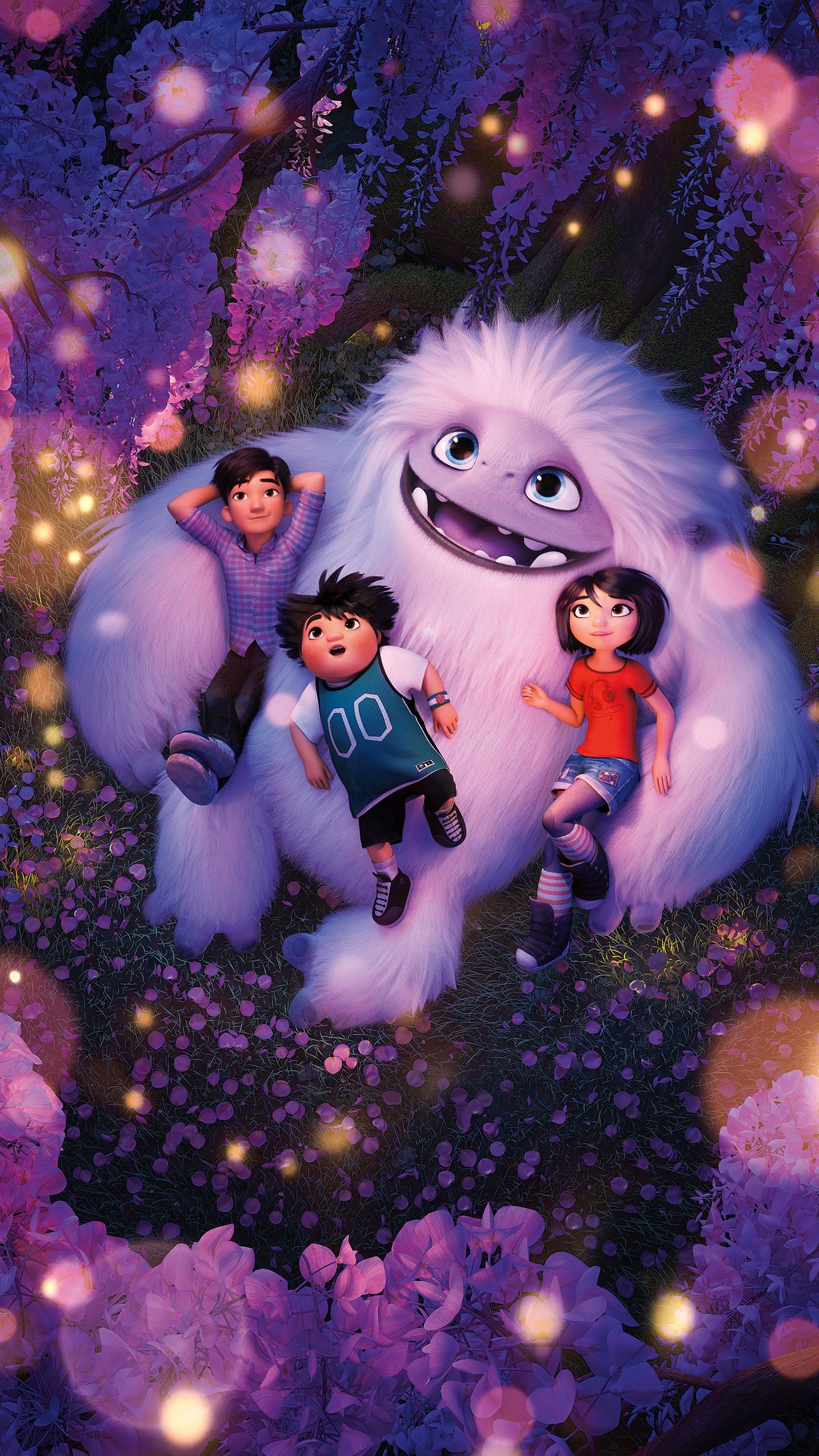 1440x2560 Abominable 2019 Animation Wallpapers