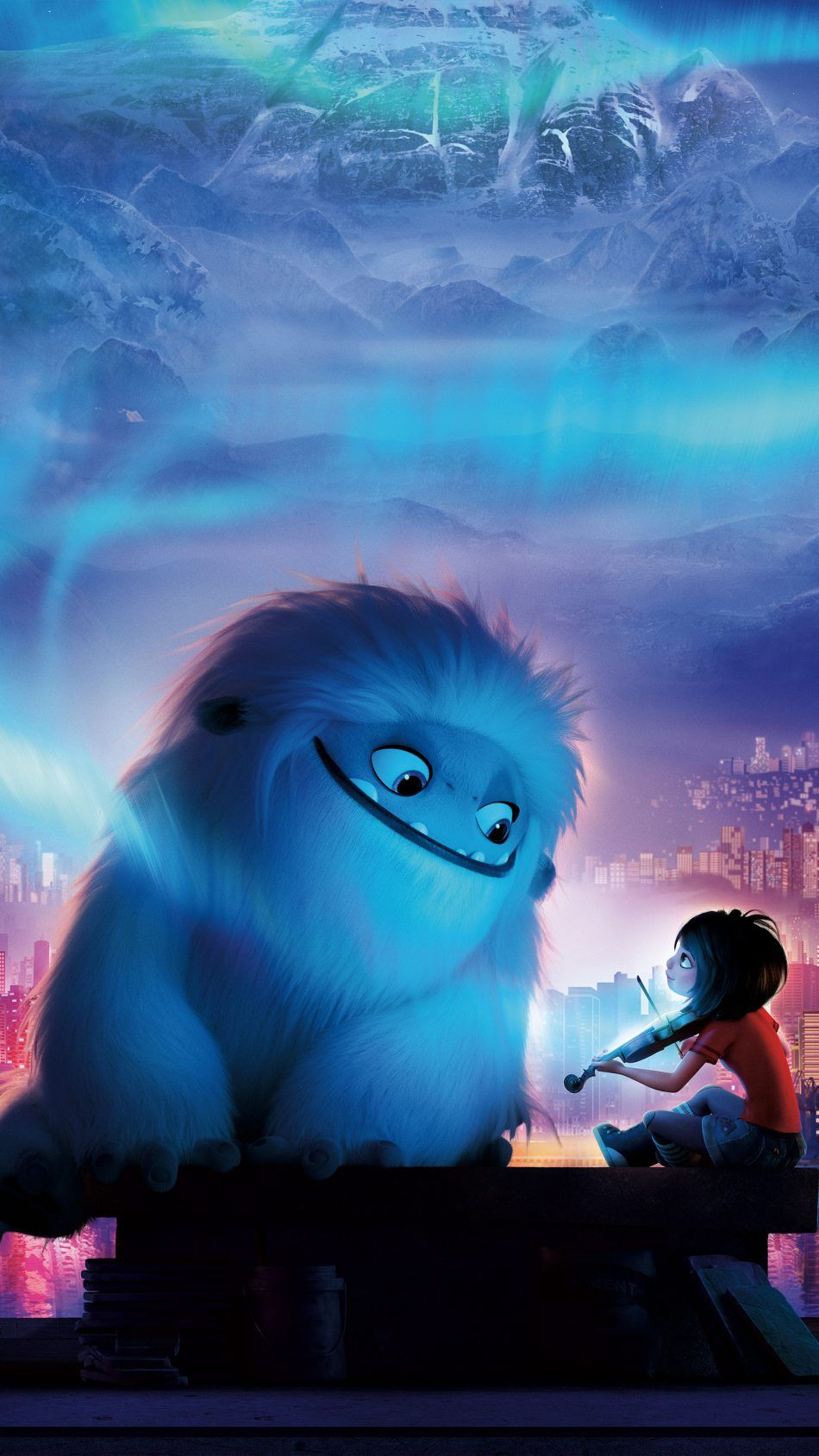 950x1689 Download Abominable Animation 2019 Adventure Free Pure 4K ...