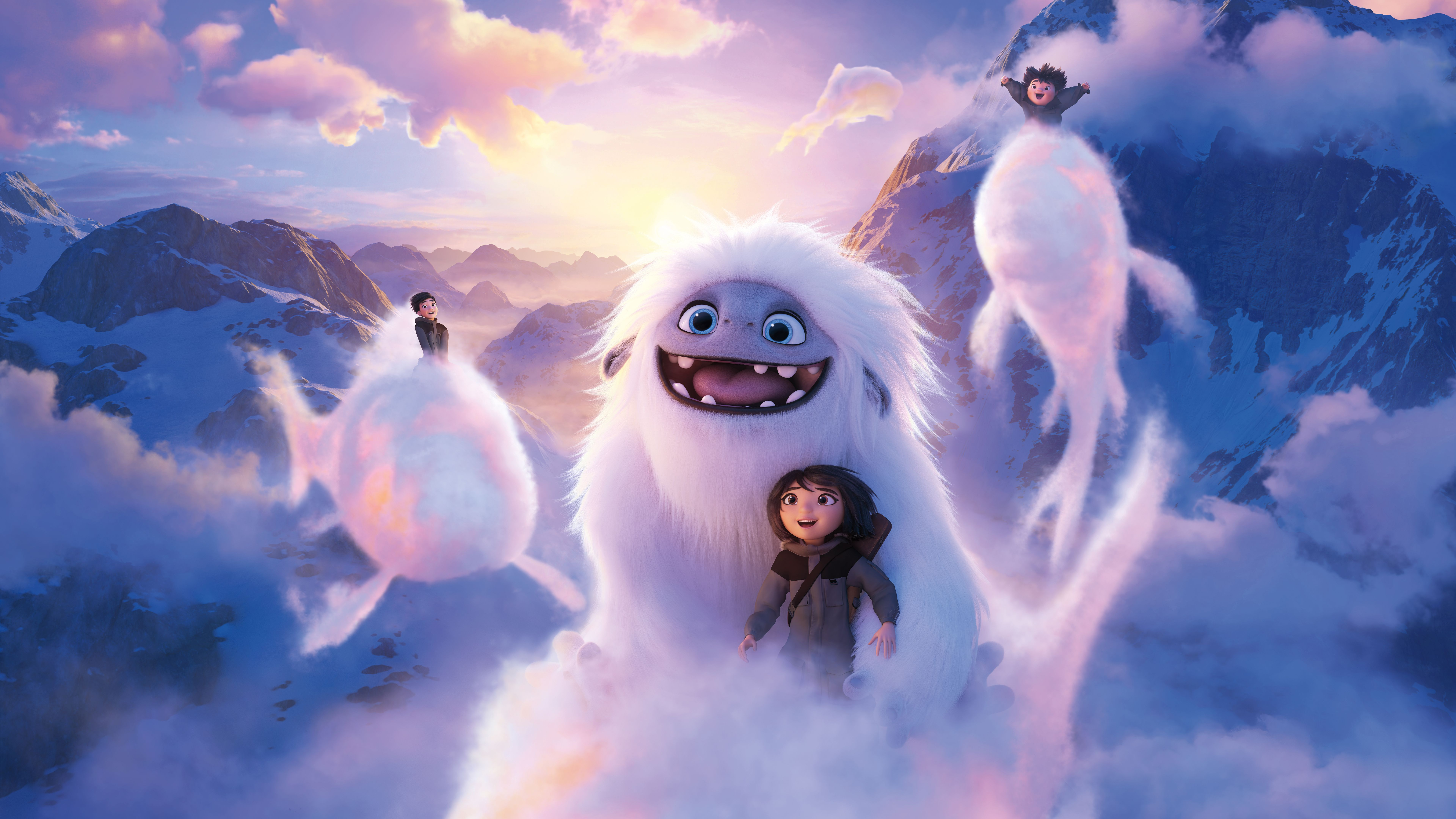 7680x4320 2019 Abominable Movie 8k, HD Movies, 4k Wallpapers, Images ...