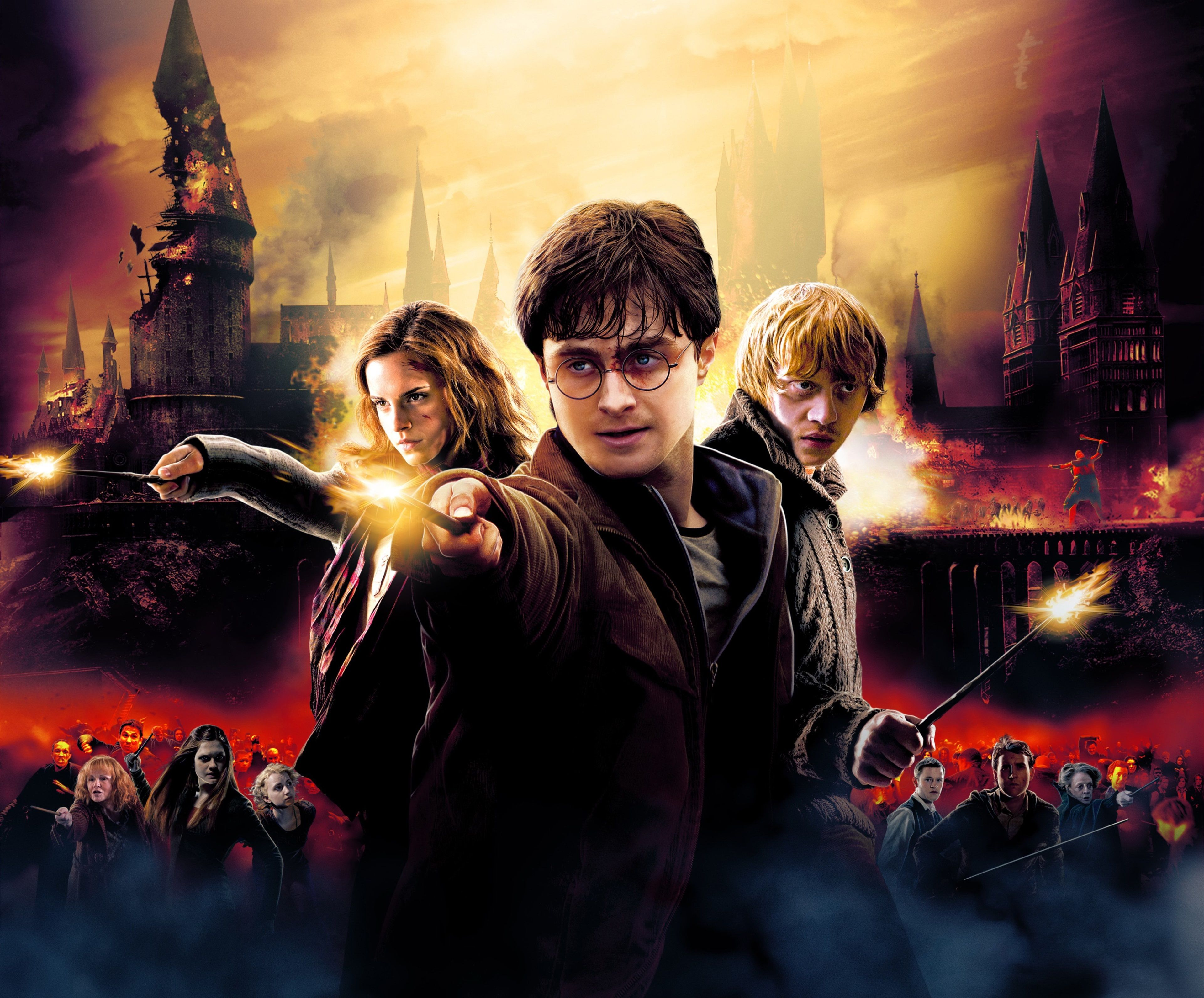 3840x3182 2636980 3840x3182 harry potter and the deathly hallows 4k ...