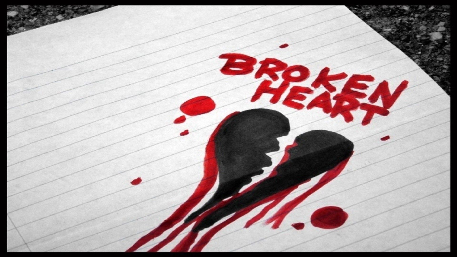 1920x1080 66+ Broken Heart Wallpapers on WallpaperPlay