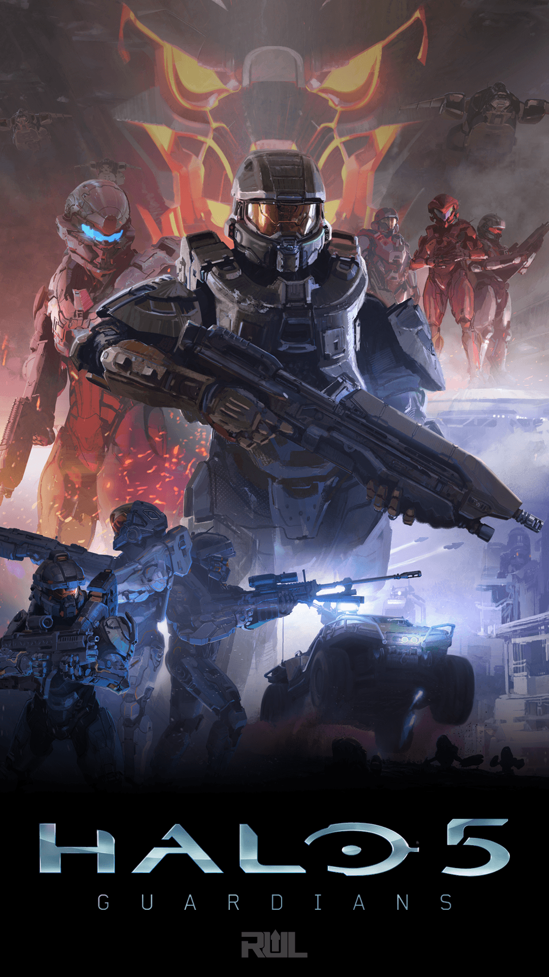 1080x1920 Halo 5 Phone Wallpapers, Profile Pics, and More - Ready Up Live