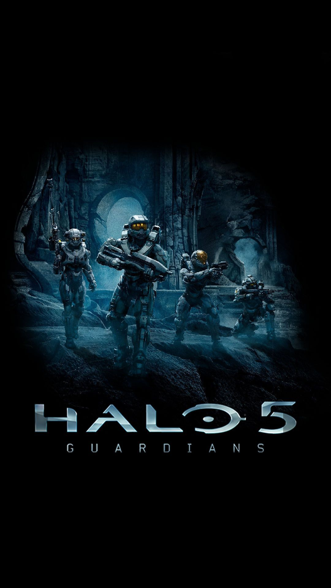 1080x1920 Halo 5: Guardians   Blue Team - Windows Phone Android Wallpapers ...
