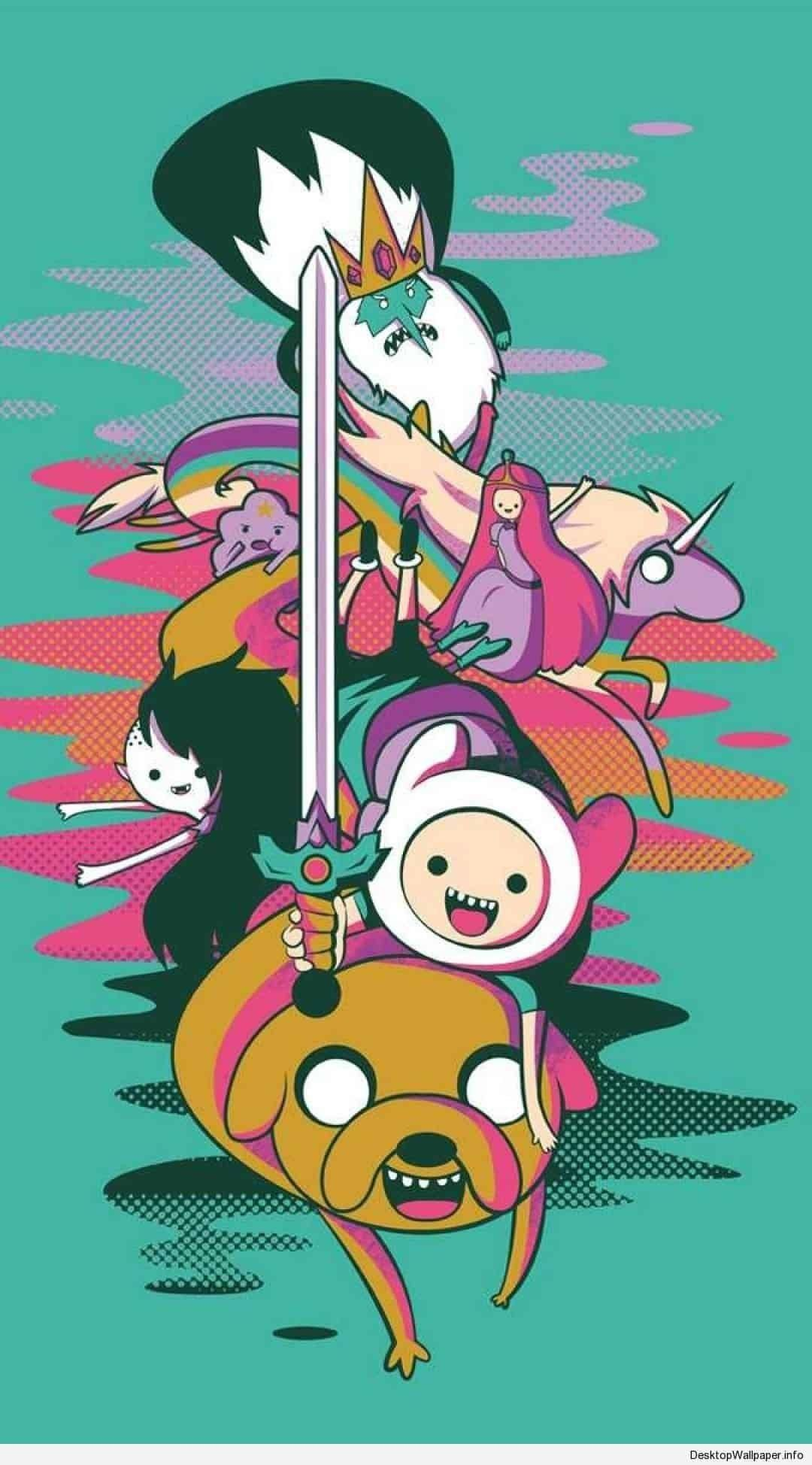 1080x1948 78+ Adventure Time Wallpapers on WallpaperPlay