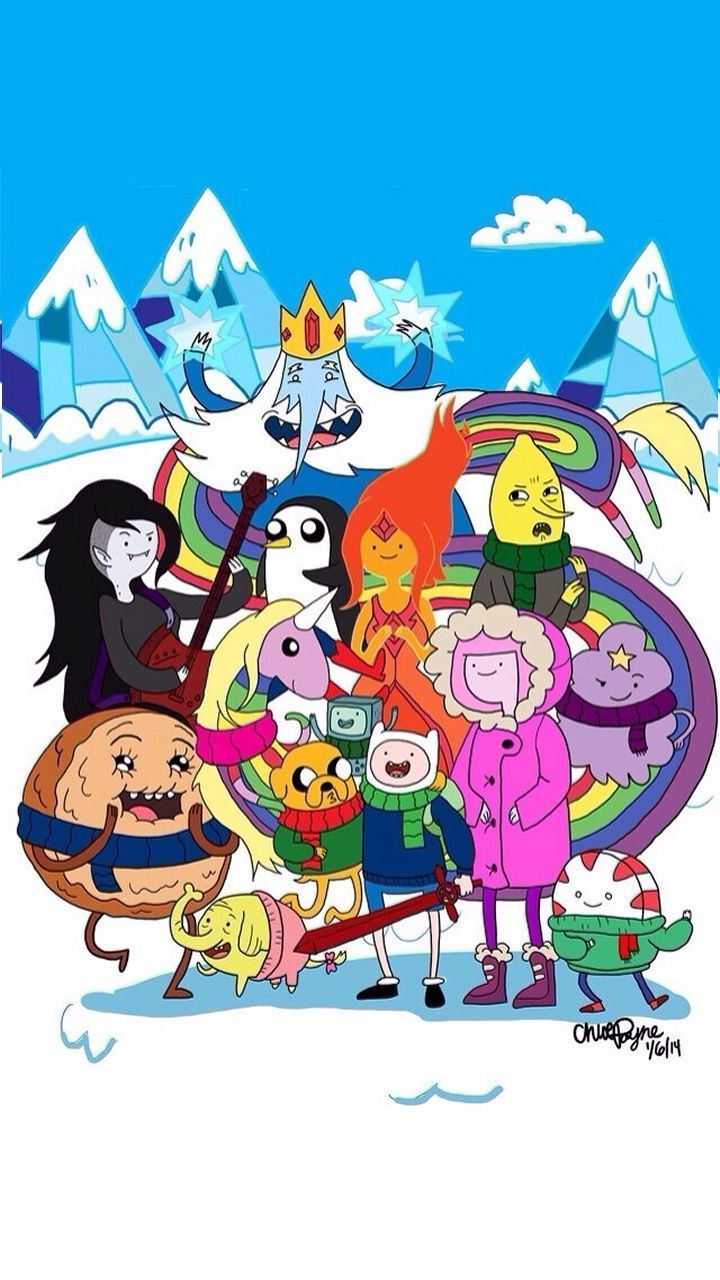 720x1280 Adventure Time iPhone Wallpapers