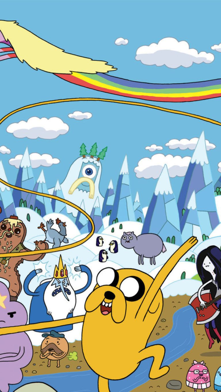 768x1365 Adventure Time Iphone Wallpaper   Free HD Wallpapers