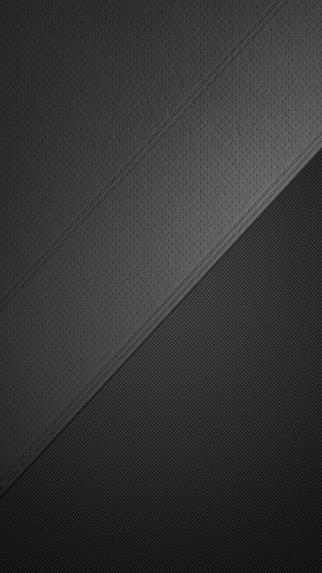1080x1920 Perforated Leather Texture Dark Android Wallpaper free download